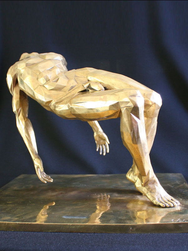 The Fallen a limited edition bronze sculpture by Ken Sealey