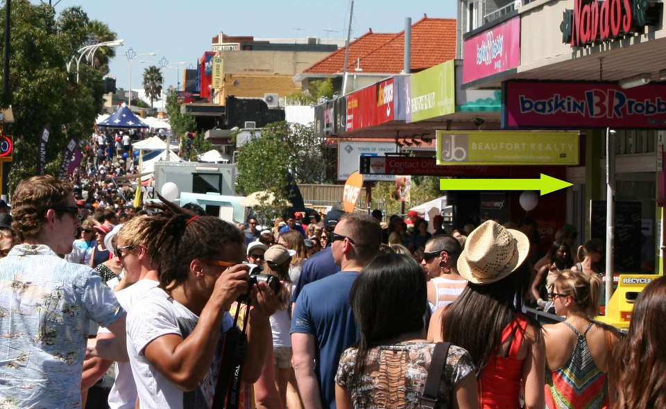 Beaufort Street Festival exhibition by Ken Sealey